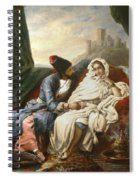 The Oriental Beauty And The Cossack Spiral Notebook