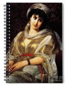 The Oriental Woman Spiral Notebook