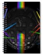 The Origin Of Light Spiral Notebook
