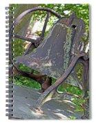 The Original Bell Of Oak Hill Cemetery Spiral Notebook