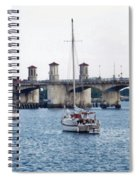 The Original Bridge Of Lions Spiral Notebook