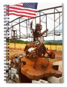 The Origional Full Throttle Saloon Spiral Notebook