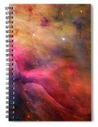 The Orion Nebula Close Up I Spiral Notebook