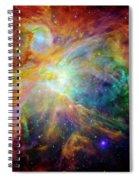 The Orion Nebula Close Up II Spiral Notebook