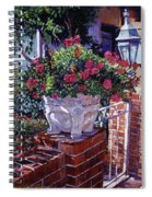 The Ornamental Floral Gate Spiral Notebook