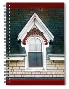 The Ornamented Gable Spiral Notebook