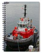 The Osprey Tug Spiral Notebook