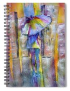 The Other Girl In The City Spiral Notebook