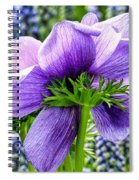 The Other Side Of Anemone   Spiral Notebook