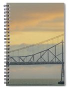 The Other Side Of The Bridge Spiral Notebook