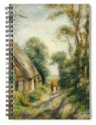 The Outskirts Of Berneval  Spiral Notebook