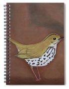 The Ovenbird Spiral Notebook