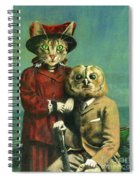 The Owl And The Pussy Cat Spiral Notebook