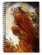 The Owl Spiral Notebook