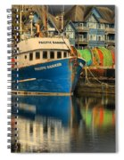 The Pacific Banker Spiral Notebook