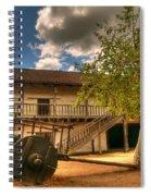 The Padre's Backyard Spiral Notebook