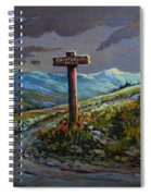 The Paintbrush Trail, Manning Provincial Park, B C Spiral Notebook