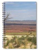 The Painted Desert Of Utah 1 Spiral Notebook