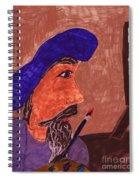 The Painter Spiral Notebook