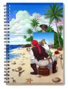 The Painting Pirate Spiral Notebook