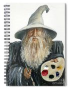 The Painting Wizard Spiral Notebook