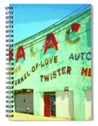 The Palace At Asbury Park Spiral Notebook