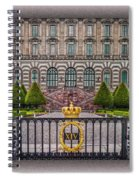 The Palace Courtyard Spiral Notebook
