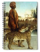 The Palace Guard With Two Leopards Spiral Notebook
