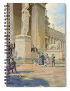 The Palace Of Fine Arts  Spiral Notebook