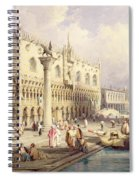 The Palaces Of Venice Spiral Notebook