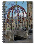 The Palais-royal Metro Station In Paris, France Spiral Notebook