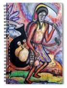 The Palm-wine Tapper #3 Spiral Notebook