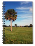 The Palmetto Tree Spiral Notebook
