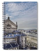 The Paris Opera 5 Art Spiral Notebook