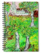 The Parish Curch Spiral Notebook