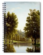 The Park At Mortefontaine Spiral Notebook