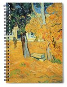 The Park At Saint Pauls Hospital Saint Remy Spiral Notebook