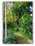 The Park Federico Garcia Lorca Is Situated In The City Of Granada, In Spain. Spiral Notebook