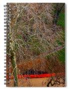 The Parc Des Buttes-chaumont # 1. Spiral Notebook
