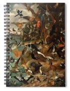 The Parliament Of Birds Spiral Notebook