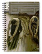 The Parquet Planers - Gustave Caillebotte Spiral Notebook