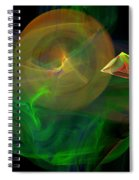 The Parrot By The Harbour Spiral Notebook