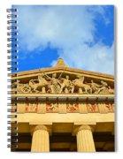 The Parthenon In Nashville Tennessee 2 Spiral Notebook