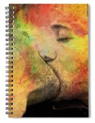 The Passion Of A Kiss 1 Spiral Notebook