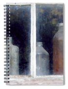 The Past In The Window Spiral Notebook