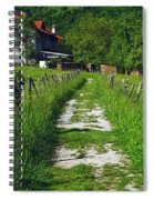 The Path Home Spiral Notebook