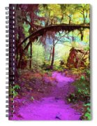 The Path Leads Ahead Spiral Notebook