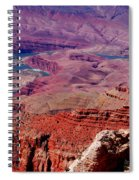 The Path Of The Colorado River Spiral Notebook