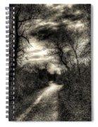 The Path Seldom Taken Spiral Notebook