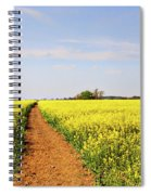 The Path To Bosworth Field Spiral Notebook